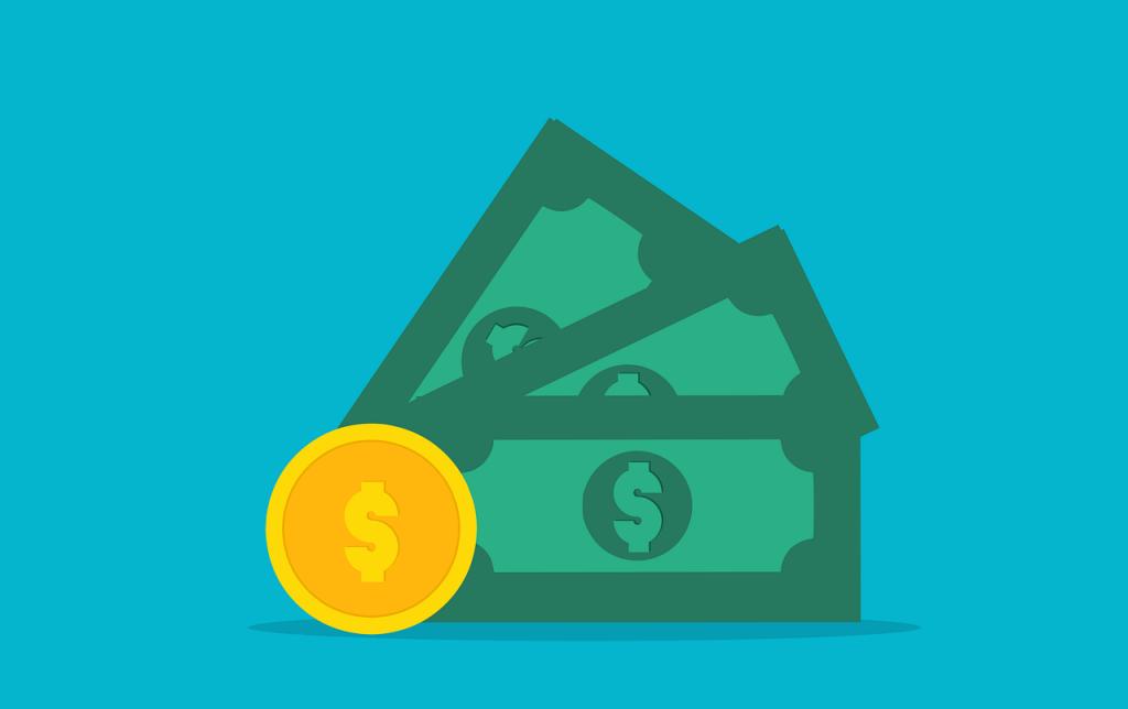 Money Cash Coin Dollars Usd Gold  - mohamed_hassan / Pixabay
