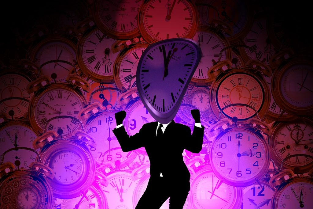 Time Clock Man Silhouette Business  - geralt / Pixabay