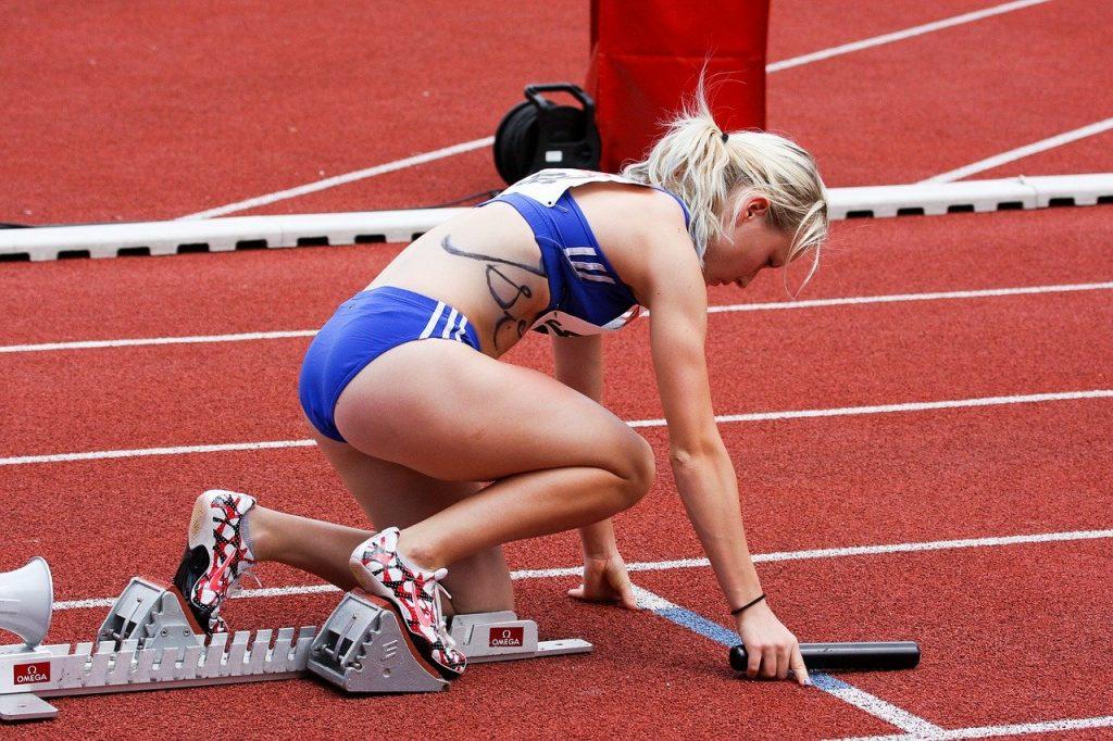 Athletics Run Sport Stadium  - Rabenspiegel / Pixabay