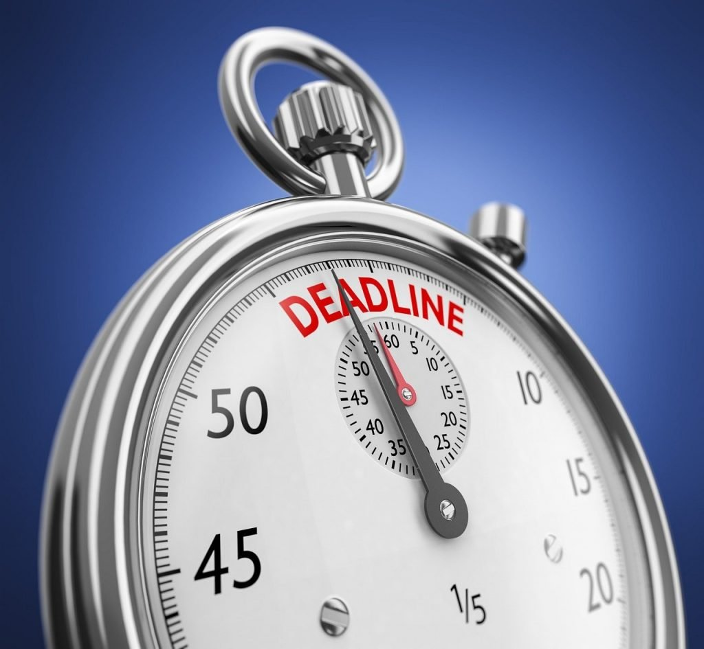 Deadline Stopwatch Clock Time  - AbsolutVision / Pixabay