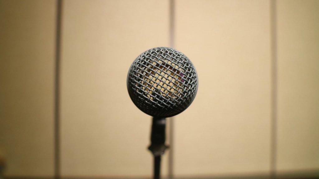 Microphone Studio Radio Music Mic  - Endho / Pixabay