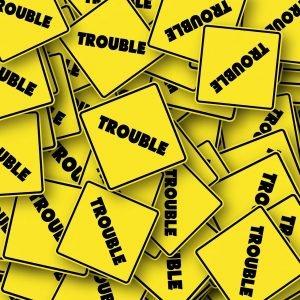 Road Sign Usa Trouble Problem  - geralt / Pixabay
