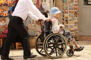 Elderly Woman Sick Care Man  - OrnaW / Pixabay