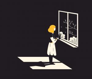 Window Girl Alone Woman Young  - lrasonja / Pixabay