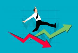 Chart Arrow Businessman Stock  - mohamed_hassan / Pixabay